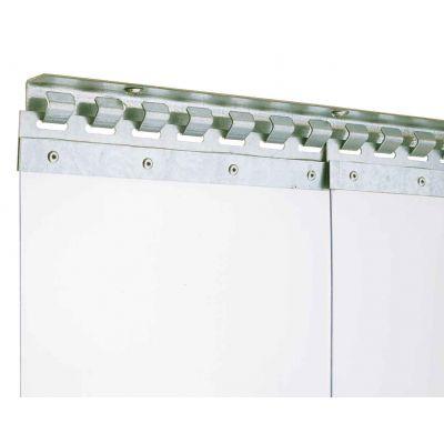 Bevestigingssysteem voor PVC lamellen