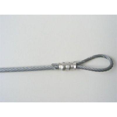 RVS kabel 6 mm per meter
