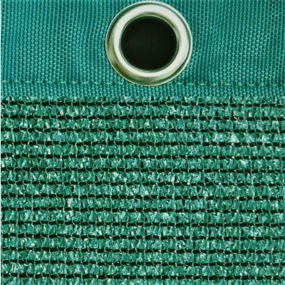 Windbreekgaas Economy Line groen met polyester band en zeilogen