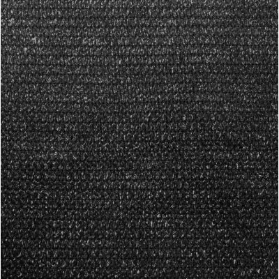 Windbreekgaas / schaduwdoek Pro Line HDPE zwart