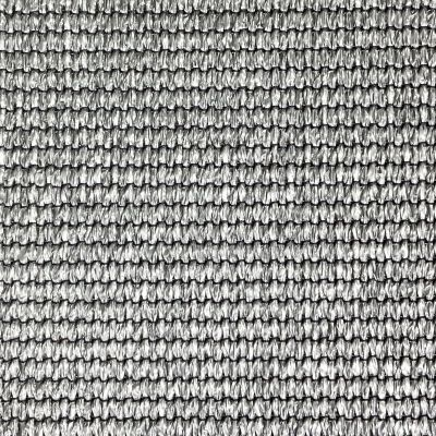 Windbreekgaas / schaduwdoek Pro Line HDPE zilvergrijs