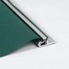 Aluminium bevestigingsprofiel voor windbreekgaas lengte 2 meter